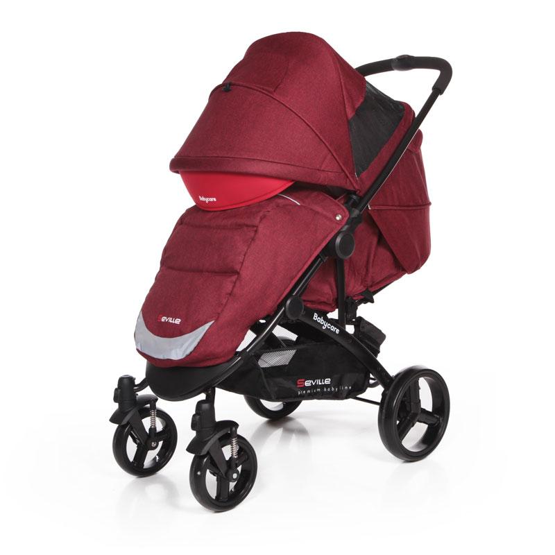 Прогулочная коляска baby care seville отзывы