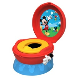 Детский горшок Tomy Y9909 Disney Mickey Mouse Potty System