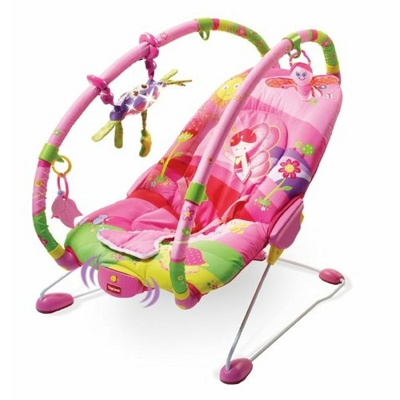 Детский шезлонг Tiny Love Princess Gymini Bouncer