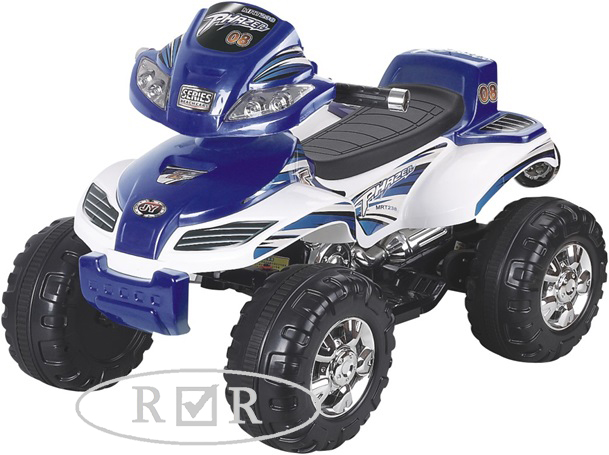 Детский квадроцикл RiverToys JY20A8 цвет синий