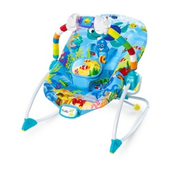 Детский шезлонг Bright Starts 60581 Baby Einstein Ocean Adventure Rocker